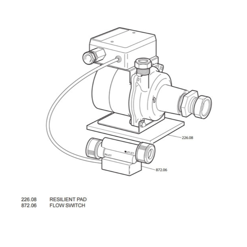 Mira Enhance Shower Pump (P80A)