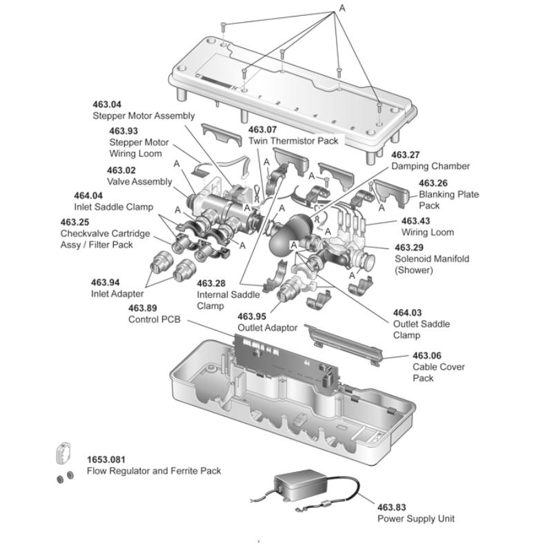 Mira Magna Digital Mixer (High Pressure) (N78A)