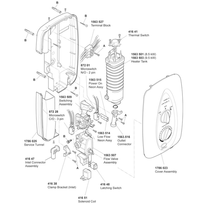 Mira Sprint 8.5 & 9.5 kW (J95Jb/Kb)