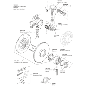 Mira Element BIV Parts and Spares - The Shower Doctors