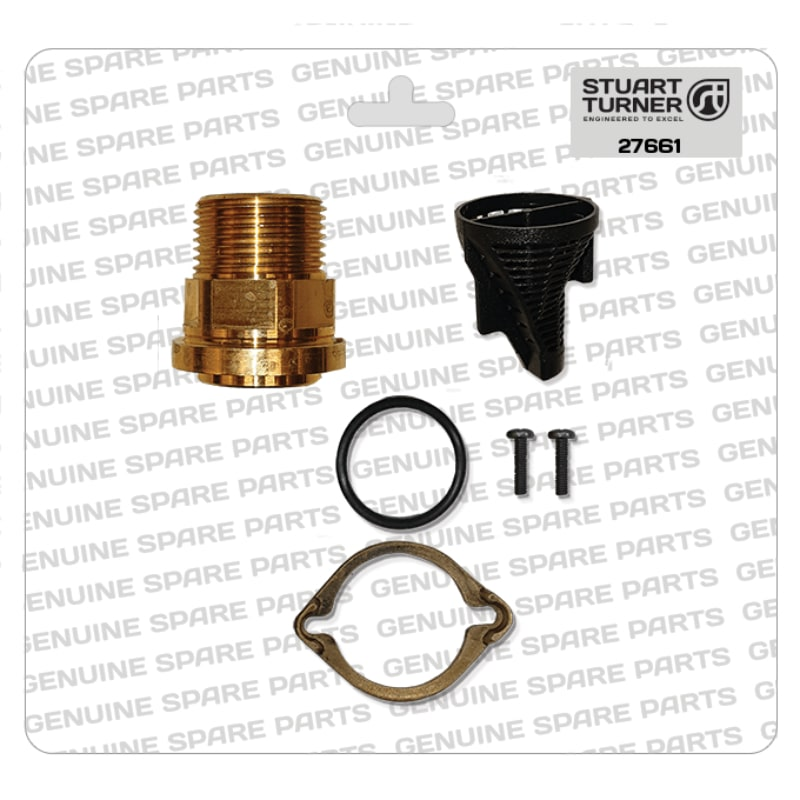 Stuart Turner - Monsoon-Inlet-Connector-Strainer-Kit-27661 - The Shower Doctors