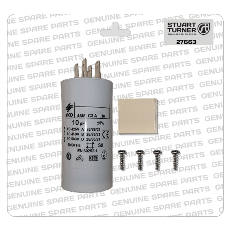 Stuart Turner - Monsoon-Motor-Capacitor-10uF-27663 - The Shower Doctors