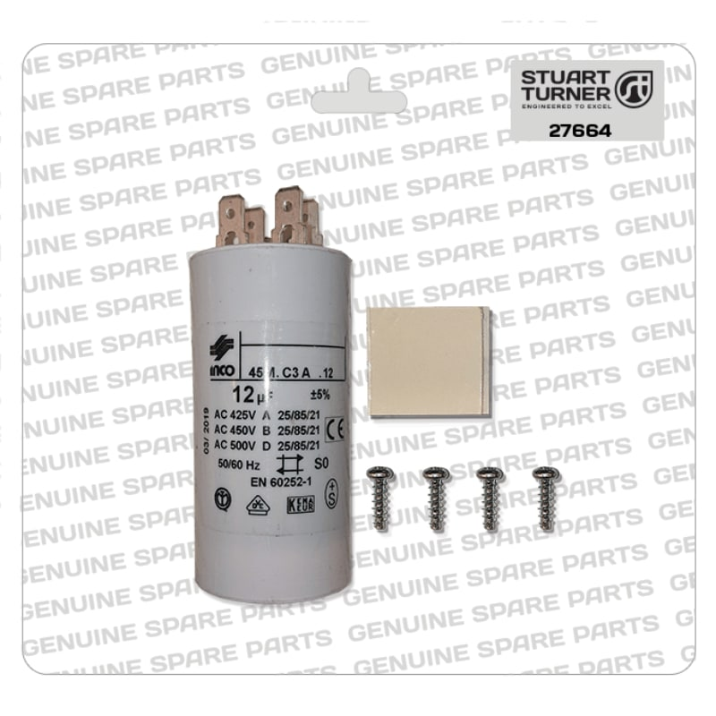 Stuart Turner - Monsoon-Motor-Capacitor-12uF-27664 - The Shower Doctors