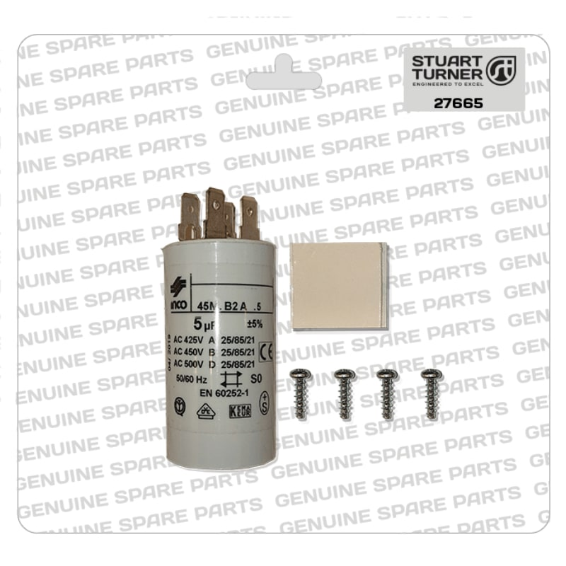 Stuart Turner - Monsoon-Motor-Capacitor-5uF-27665 - The Shower Doctors