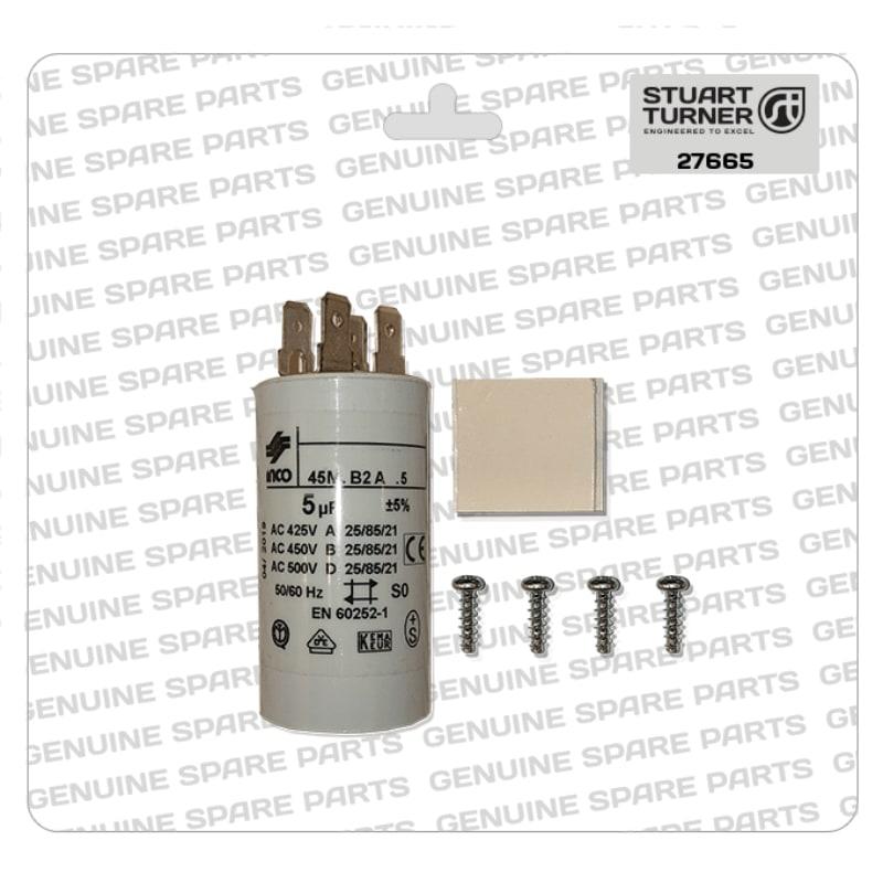 Stuart Turner - Monsoon-Motor-Capacitor-5uF-27665 - The Shower Doctors