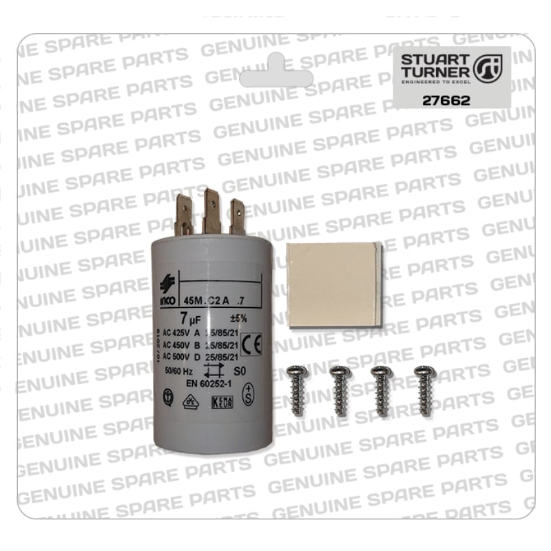 Stuart Turner - Monsoon-Motor-Capacitor-7uF-27662 - The Shower Doctors