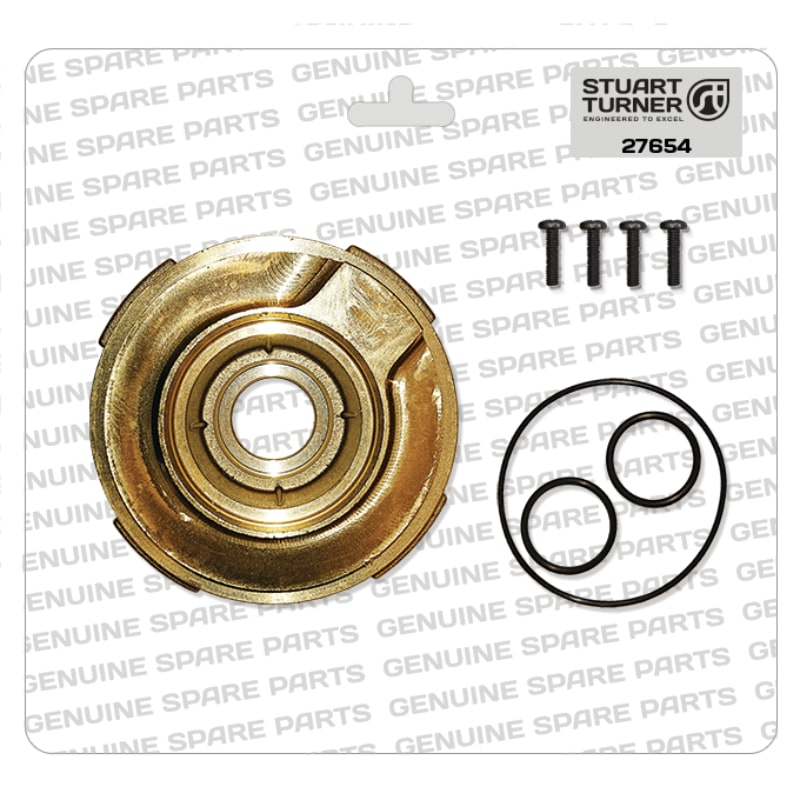Stuart Turner - Monsoon-Pump-Head-Mounting-Plate-Kit-2Dot-27654 - The Shower Doctors