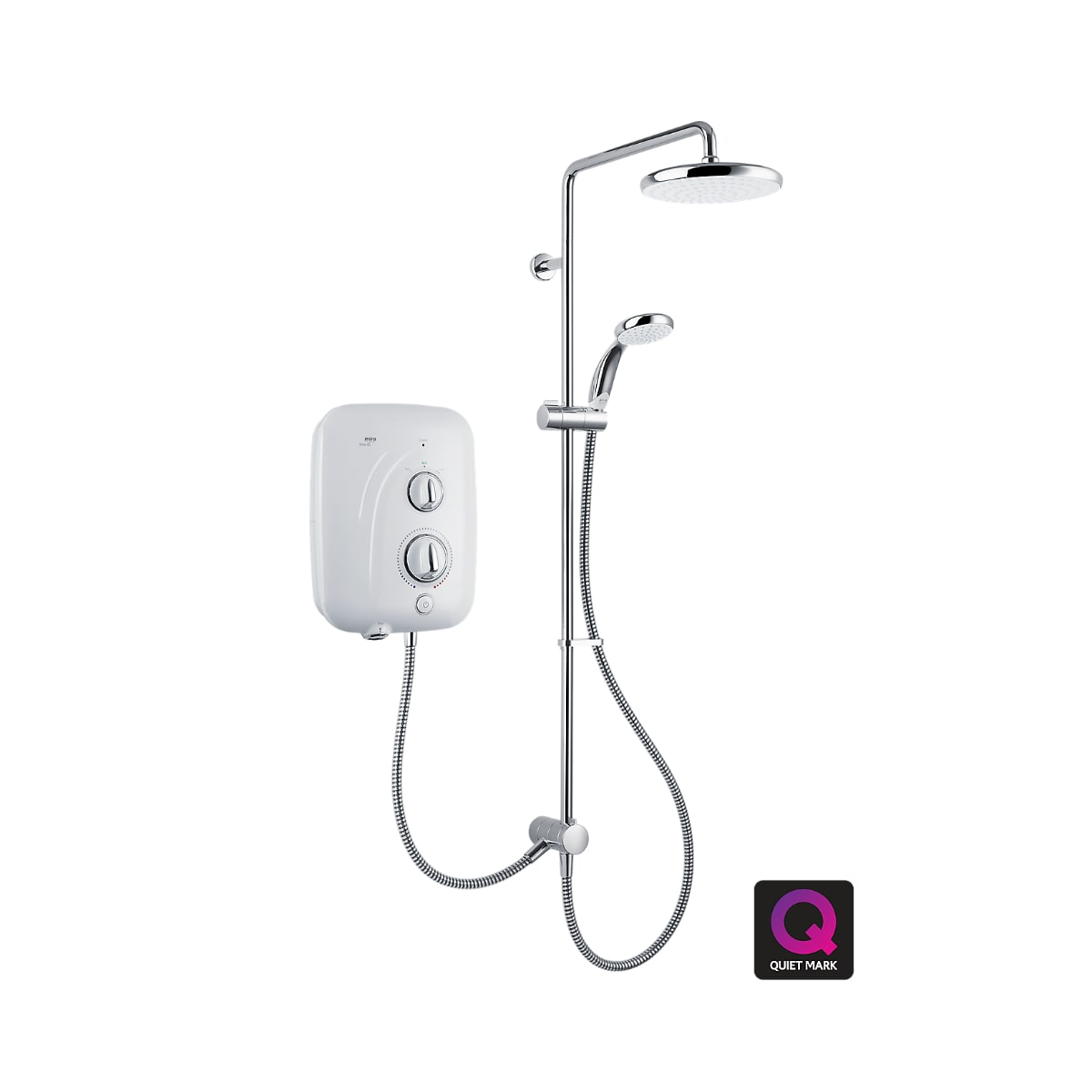 Mira Elite SE Dual Shower - The Shower Doctors